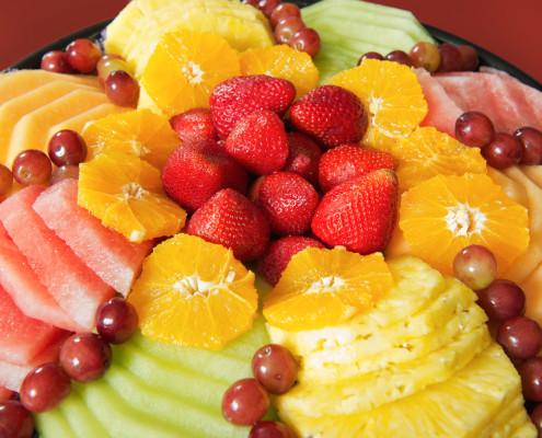 Hobee's fruit platter