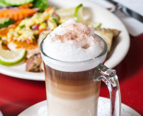 Hobee's latte