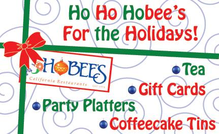 Hobee's Holiday Flyer