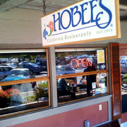 Hobee's store front at Stanford
