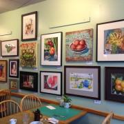 art inside Hobee's