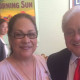 Leticia Martinez and Mike Honda close up