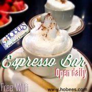 espresso bar open daily