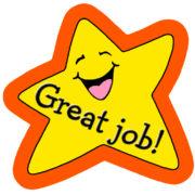 great job star