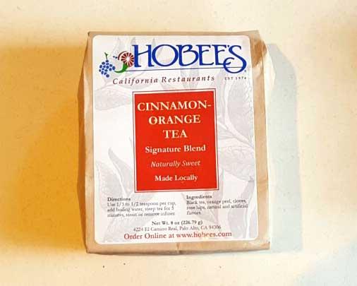 Hobee' cinnamon orange tea