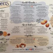 Hobee's new menu